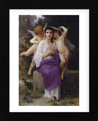 William-Adolphe Bouguereau - L'Eveil Du Coeur