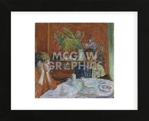The Dessert, or After Dinner, c. 1920  (Framed) -  Pierre Bonnard - McGaw Graphics