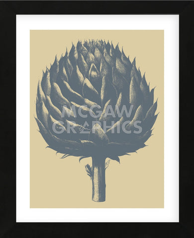 Artichoke 1 (Framed) -  Botanical Series - McGaw Graphics