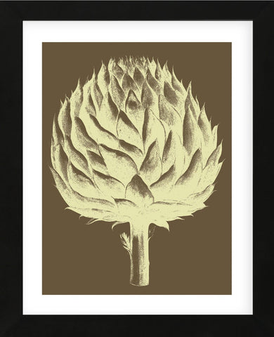 Artichoke 4 (Framed) -  Botanical Series - McGaw Graphics