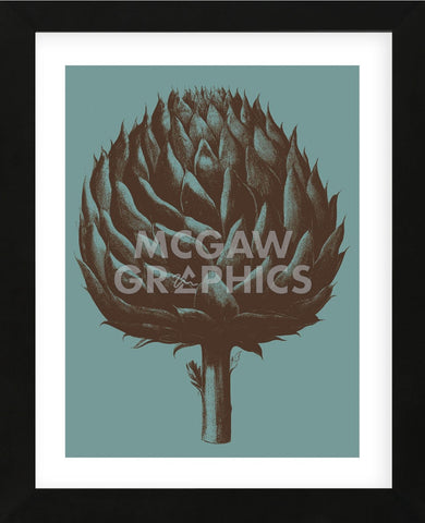 Artichoke 5 (Framed) -  Botanical Series - McGaw Graphics