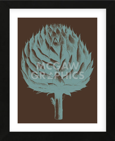 Artichoke 6 (Framed) -  Botanical Series - McGaw Graphics