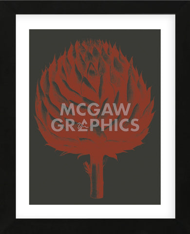 Artichoke 10 (Framed) -  Botanical Series - McGaw Graphics