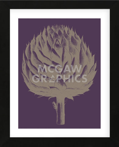 Artichoke 13 (Framed) -  Botanical Series - McGaw Graphics
