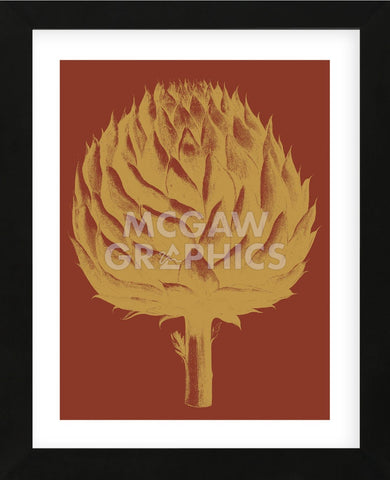 Artichoke 16 (Framed) -  Botanical Series - McGaw Graphics