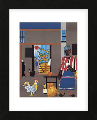 Morning of the Rooster, 1980 (Framed) -  Romare Bearden - McGaw Graphics