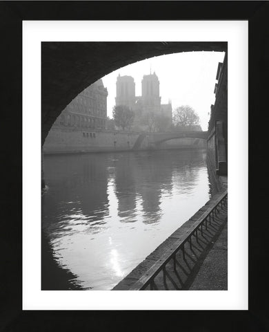 Notre Dame Reflection (Framed) -  Chris Bliss - McGaw Graphics