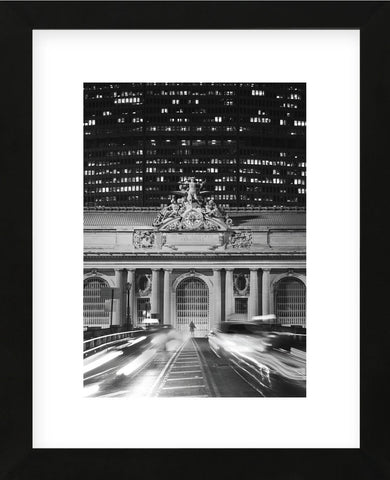 Grand Central Station at Night (Framed) -  Chris Bliss - McGaw Graphics