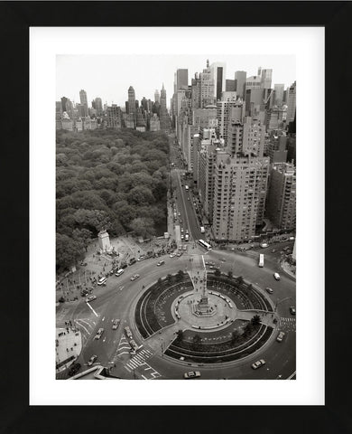 Columbus Circle (Framed) -  Chris Bliss - McGaw Graphics