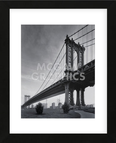 Manhattan Bridge (Framed) -  Chris Bliss - McGaw Graphics
