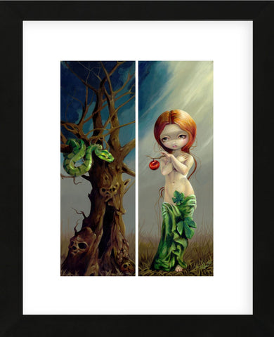 Eve and the Tree of Knowledge (Framed) -  Jasmine Becket-Griffith - McGaw Graphics