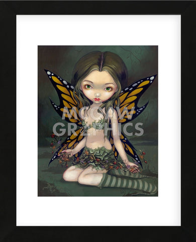 Fairy with Dried Flowers (Framed) -  Jasmine Becket-Griffith - McGaw Graphics