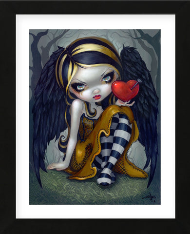 Heart of Nails (Framed) -  Jasmine Becket-Griffith - McGaw Graphics
