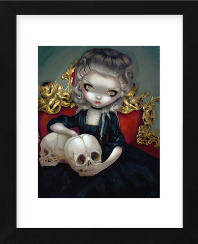 Les Vampires Les Cranes (Framed) -  Jasmine Becket-Griffith - McGaw Graphics