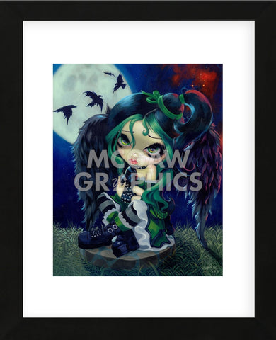 Perched and Sat and Nothing More (Framed) -  Jasmine Becket-Griffith - McGaw Graphics