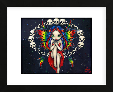 Rainbow of Bones (Framed) -  Jasmine Becket-Griffith - McGaw Graphics