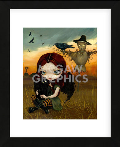 The Scarecrow (Framed) -  Jasmine Becket-Griffith - McGaw Graphics