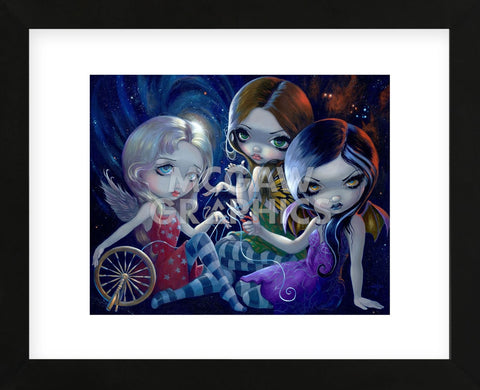 The Three Fates (Framed) -  Jasmine Becket-Griffith - McGaw Graphics