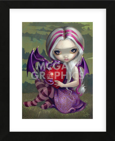 Valentine Dragon (Framed) -  Jasmine Becket-Griffith - McGaw Graphics