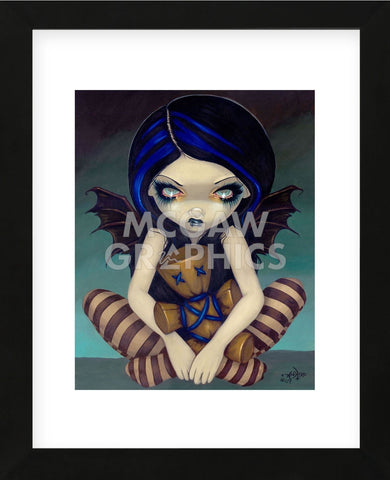 Voodoo In Blue (Framed) -  Jasmine Becket-Griffith - McGaw Graphics