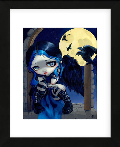 The Whispered Word Lenore (Framed) -  Jasmine Becket-Griffith - McGaw Graphics