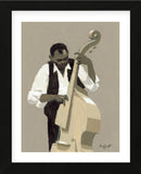 String Bass Player (Framed) -  William Buffett - McGaw Graphics