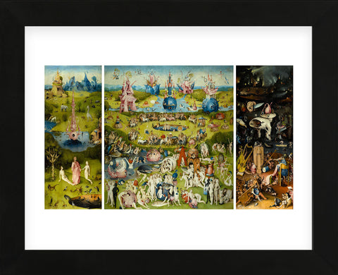 Hieronymus Bosch - The Garden of Earthly Delights, 1490-1510