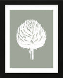 Artichoke (Sage & Ivory) (Framed) -  Botanical Series - McGaw Graphics