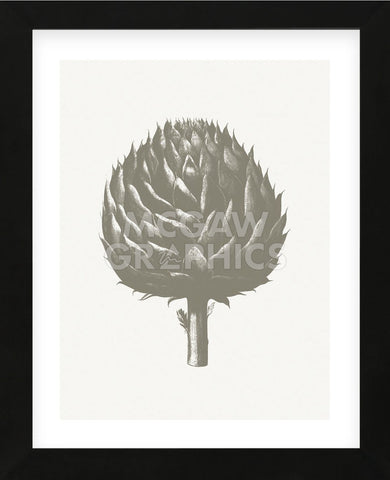 Artichoke (Ivory & Burlap) (Framed) -  Botanical Series - McGaw Graphics