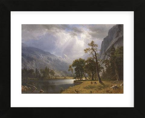 Albert Bierstadt - Half Dome, Yosemite Valley