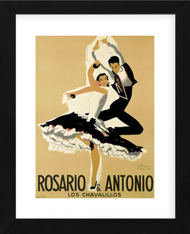 Rosario & Antonio, 1949  (Framed) -  Paul Colin - McGaw Graphics