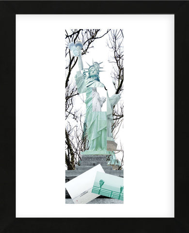 Statue of Liberty Collage  (Framed) -  Erin Clark - McGaw Graphics