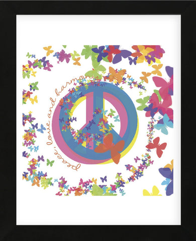 Peace, Love, and Harmony (Framed) -  Erin Clark - McGaw Graphics