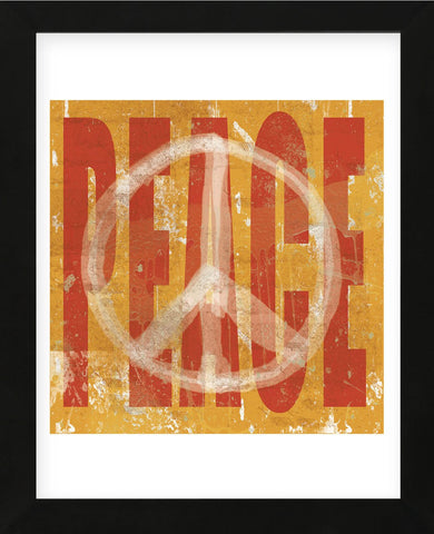 Think Peace (Framed) -  Erin Clark - McGaw Graphics