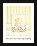 Good Morning Bear  (Framed) -  Gaelle Cicarda - McGaw Graphics