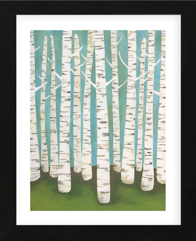 Summer Birches (Framed) -  Lisa Congdon - McGaw Graphics