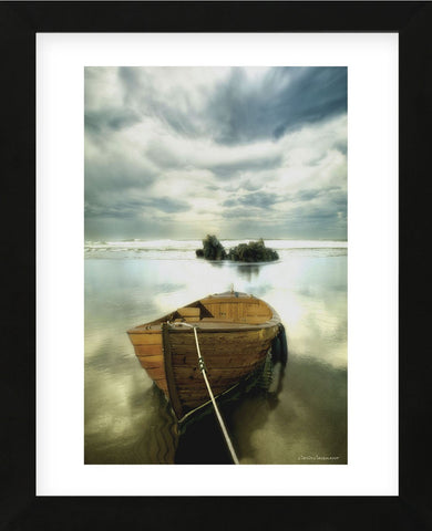 The Old Boat (Framed) -  Carlos Casamayor - McGaw Graphics