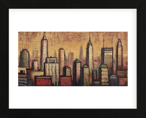 Little Metropolis I (Framed) -  Timothy Craig - McGaw Graphics
