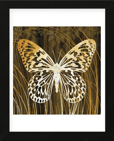 Butterflies & Leaves II (Framed) -  Erin Clark - McGaw Graphics