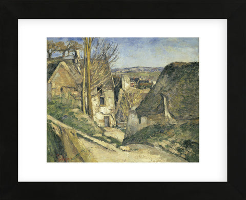 Paul Cezanne - The House of the Hanged Man (La maison du pendu), Auvers sur Oise, 1873