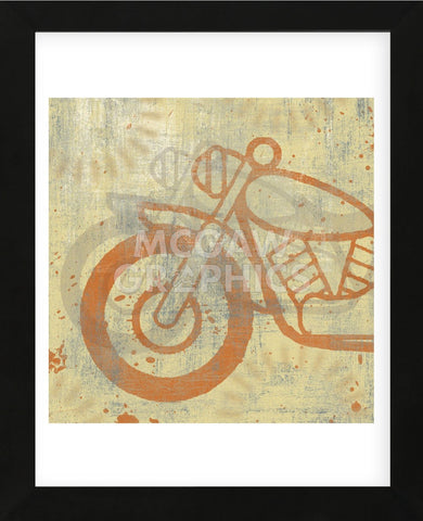 Motorcycle I (Framed) -  Erin Clark - McGaw Graphics