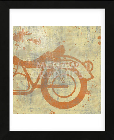 Motorcycle II (Framed) -  Erin Clark - McGaw Graphics