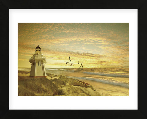 Pacific Sunset 6 (Framed) -  Carlos Casamayor - McGaw Graphics