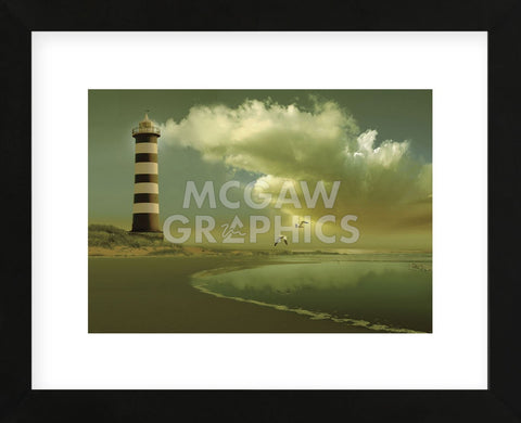 Pacific Sunset 7 (Framed) -  Carlos Casamayor - McGaw Graphics
