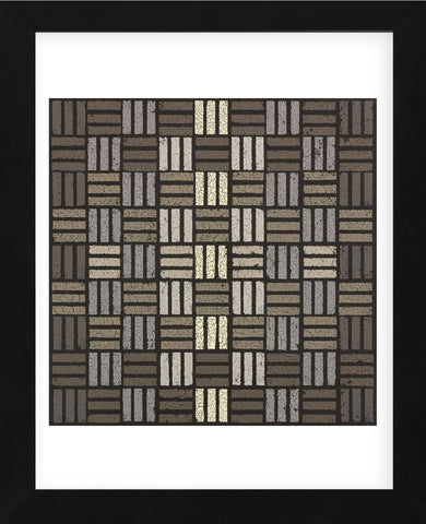 Basket Weave Triple Play (Framed) -  Susan Clickner - McGaw Graphics
