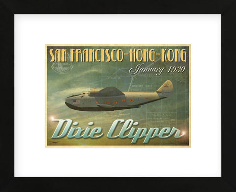 Dixie Clipper (Framed) -  Carlos Casamayor - McGaw Graphics