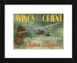 China Clipper (Framed) -  Carlos Casamayor - McGaw Graphics