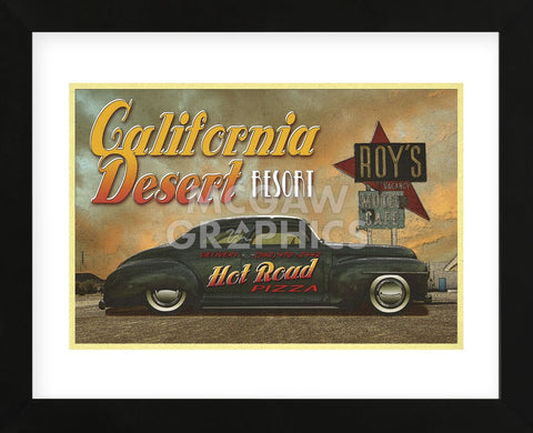 Classic Cars 2 (Framed) -  Carlos Casamayor - McGaw Graphics