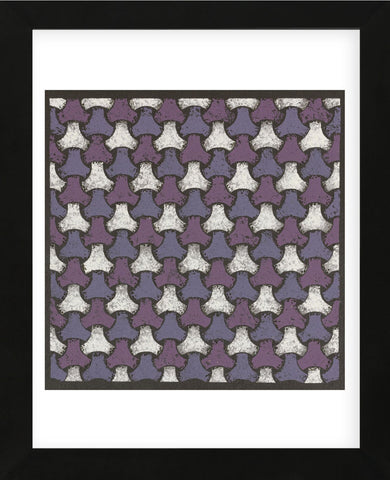 Interwoven Balls - Plum (Framed) -  Susan Clickner - McGaw Graphics