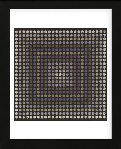 Lots of Dots - Plum (Framed) -  Susan Clickner - McGaw Graphics
